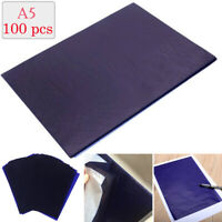 100 Blätter Kohlepapier DIN A5 Pauspapier Durchschreibepapier Schreibmaschine