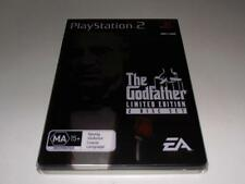 The Godfather Limited Edition PS2 PAL Preloved *Complete* Steelbook