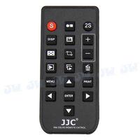 JJC wireless Remote Control for Sony A7 III A7R II A7S II A77 II as RMT-DSLR1 2