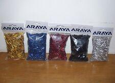 *ARAYA BMX BICYCLE SPOKE NIPPLES BLUE COLOR 75 PER BAG 14G 16MM LONG*