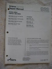 ARIENS 932000 SERIES COMPACT SNO-THROWS GARDEN TILLER SERVICE REPAIR MANUAL