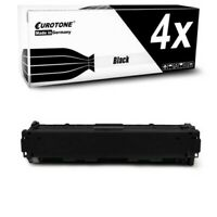 4x Toner Black Replaces Canon 045H BK