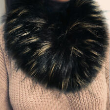 Ladies Pashmina Fur Imitation Fur Grass Scarves Shawl Wrap Neck Fur Collar Scarf