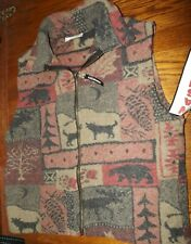 Nwt Black Mountain Washable Wool VEST Size Medium