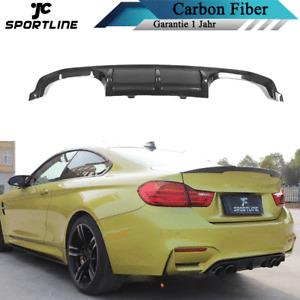 Carbon Heck Diffusor Spoiler für BMW M3 F80 M4 F82 F83 14-19 Ansatz Heckschürze