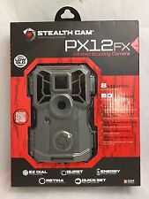 New Stealth Cam PX12FX No Glo Scouting Camera 8MP Grey STC-PX12FX