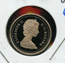 1989 Canada 10 cents Proof Dime Coin - Nice Heavy Cameo