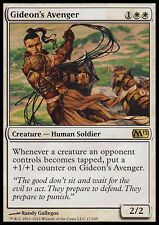 GIDEON'S AVENGER NM mtg M12 White - Human Soldier Rare
