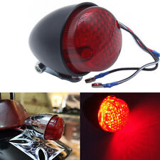 feu phare arriere moto piece bobber chopper custom motor taillight NOIR texas