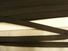 Bias Binding  Black Poly Cotton 12mm  x 15 mts