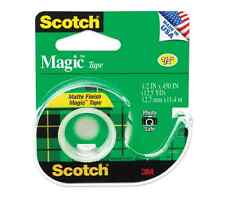 Scotch Magic Tape 1/2 Inch X 450 Inches 1 Each (Pack of 3)