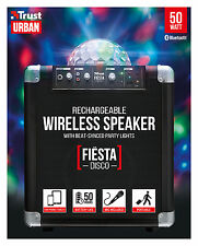 TRUST 21405 UR FIESTA DISCO PARTY 50W RECHARGEABLE BLUETOOTH SPEAKER SYSTEM