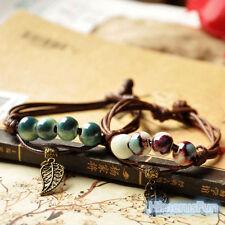 Ethnic Original Ceramic Bronze Handmade Bracelets Girl