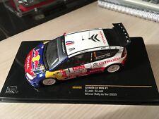 IXO 1:43 CITROEN C4 WRC LOEB / LOEB WINNER RALLYE DU VAR 2009
