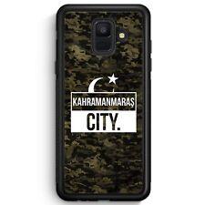 Samsung Galaxy A6 2018 SILIKON Hülle Cover Kahramanmaras City Camouflage Türkei