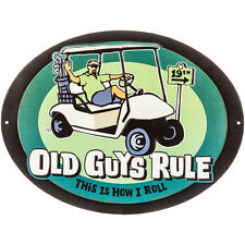 """Old Guys Rule """" This Is How I Roll """" Golf Cart Putter Iron Wood Ball Bag. Sport"""
