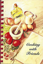*MCMINNVILLE OR 2002 METHODIST CHURCH COOK BOOK *COOKING WITH FRIENDS *OREGON