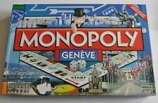 MONOPOLY GENEVE (France) Board Game 2009 Winning Moves