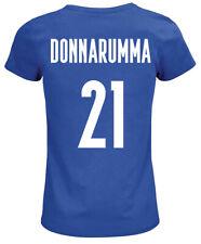 Maglia Italia DONNARUMMA 21 Euro 2020 2021 Scudetto Maglietta Forza azzurri