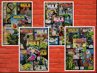 Lot of 20 Incredible Hulk #421-440 *ALL HIGH GRADE* Gorgeous Straight Run!