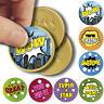 175 x Superhero Comic Praise Words - Themed Teacher Reward Stickers - Size 37mm