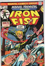 Marvel Premiere #15 (May 1974, Marvel) VG/Fine
