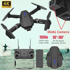 Faltbar WIFI FPV Drohne 4K HD Dual Kamera Selfie Video Quadrocopter RC Drone
