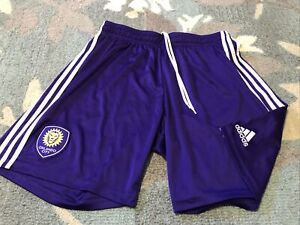 Adidas MLS Orlando City Shorts To Home Soccer Jersey XL Climalite Purple