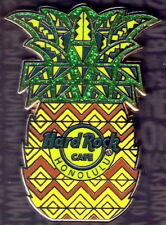 Hard Rock Cafe HONOLULU 2017 City Core PINEAPPLE PIN LE 500  New on Card!