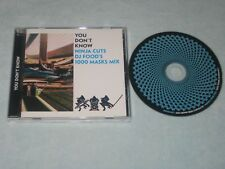 You Don't Know NINJA CUTS DJ FOOD'S 1000 MASKS MIX CD Album Dance Hip Hop