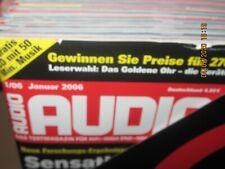 Audio Hifi Magazin Zeitschrift ,kompletter Jahrgang 2006 Heft 1-12