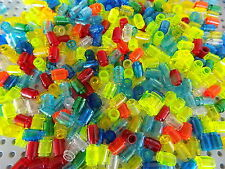 Lego Translucent Round Brick 1x1 lot of 40 Pieces picked at random from huge lot