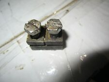evinrude Johnson outboard  gearbox shaft shift rod connector & screws 0303794