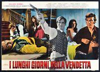T113 Fotobusta I Largos Giorni De Vendetta Giuliano Gemma Western 1