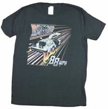 Back To The Future Juvy Poster T-Shirt In Black
