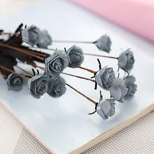 15 Head Artificial Fake Rose Mini Flower Home Wedding Party Decor Bridal Bouquet