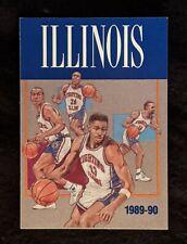 1989-90 University of Illinois Basketball Schedule - Kendall Gill among others