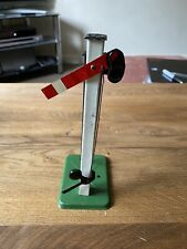 More details for vintage hornby/meccano o gauge no 2 single arm signal  in original boxed