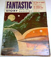 Fantastic Story Magazine – US Pulp – Spring 1954  – Vol.7 No.1 - Murray Leinster