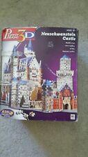 MB Puzzle 836 Piece Puzz3D Neuschwanstein Castle