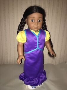 Pleasant Company Kaya American Girl Doll in Pow Wow Dress