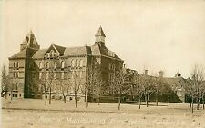South Dakota, Sd, Yankton, Rear of Main Building State Hospital Early Rppc