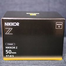 Nikon NIKKOR Z 50mm F1.8 S Lens Genuine