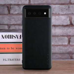 Case for Google Pixel 6 Pro XL Luxury Textile leather Skin phone case cover
