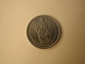 1968 Switzerland 2 Francs Uncirculated KM 21A.1