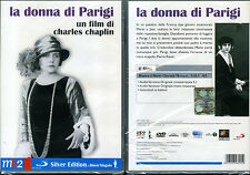 LA DONNA DI PARIGI - C. CHAPLIN - DVD (NUOVO SIGILLATO)