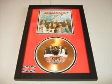 AEROSMITH   SIGNED  GOLD CD  DISC 9
