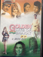 Golden Hits of Bharat,DVD, Bollywood Ent, Hindu Language, English Subtitles, New
