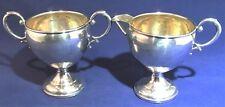 Antique Hamilton Silver Mfg. Co.Sterling Hollowware Creamer & Sugar~Circa 1910