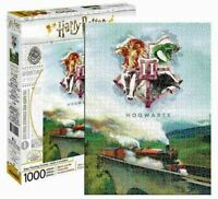 1000 piece HARRY POTTER - TRAIN Hogwarts Express Licensed Jigsaw Puzzle CRESTS